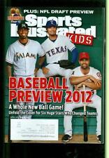 2012 Sports Illustrated for Kids: Jose Reyes/Yu Darvish/Albert Pujols/Carlos B.