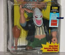 McFarlane Todd Toys Spawn Poseable Clown Action Figure With Comic Book