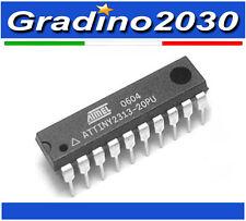 ATMEL ATTINY 2313 - ATTINY2313-20PU DIP-20 MCU AVR CHIP IC