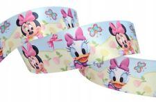 Minnie Mouse   Schleifenband  Stoffband  25 mm SATINBAND Zierborte # 1