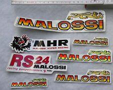 MALOSSI Aufkleber SET Vespa Piaggio Tuning Motorrad Zylinder Roller PX PK 50 SS