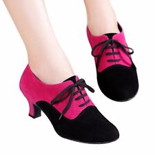 Modern Latin Dance Shoes Women's Ballroom Tango DancingTeacher Practice shoes