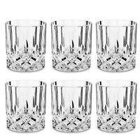 Liquor Whiskey Glass Set Rock Glassware Gift 6Pcs Tumblers Drinking Tasting
