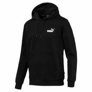 Men's Puma Black Essentials Fleece Hoody