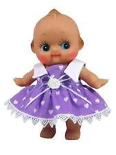 """Purple Heart Print Dress for 8"""" Kewpie Dolls"""