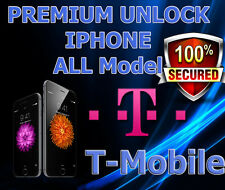 Premium UNLOCK SERVICE USA T-mobile iPhone 5 5s 5c 6 6+ 6S 6S+ SE 7 7+  ALL IMEI
