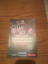 Stadion Magazin Finale Deutsche Meisterschaft Frauen U17 FC Bayern - Potsdam