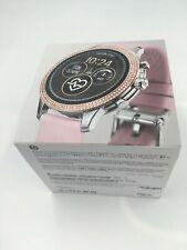 MICHAEL KORS Runway Access Silver Rose Gold Pink Touchscreen Smartwatch MKT5055