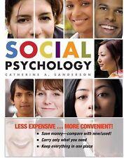 NEW - Social Psychology by Catherine A. Sanderson