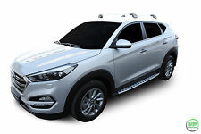 RB035 HYUNDAI TUCSON 2015- up Running Boards Side Steps + FREE FITTING CLIPS
