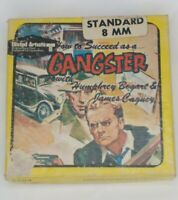 "HOW TO SUCCEED AS A GANGSTER HUMPHREY BOGART JAMES CAGNEY FILM 8MM  ON 5"" REEL"