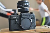 Leicaflex  Camera body only with strap and 28mm F2.8 Lens
