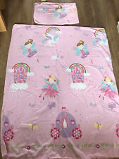 Girl Fairy ,Rainbow 🌈 Toddler Bedding, Duvet Cover, Pillowcase, Fitted Sheet