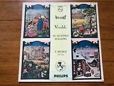 Vivaldi Le Quattro Stagioni~I Musici~Felix Ayo~1980 South Korea IMPORT Vinyl