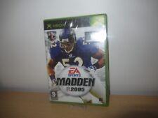 Madden NFL 2005 (Xbox)  new sealed pal