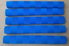 5x CHEVRON Cricket Bat Grips - BLUE - Oz Stock