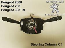 Peugeot 208 2008 308 Steering Column Indicator Wiper Stalk Switch 98072731ZD