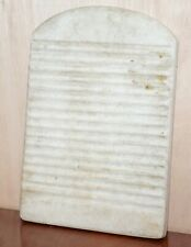 RARE 19TH CENTURY SPANISH SOLID MARBLE WASH BOARD WASHING CLOTHES THE OLD WAY