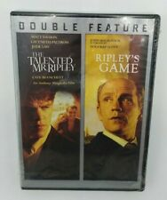 The Talented Mr. Ripley/Ripleys Game (Dvd, 2016, 2-Disc Set) New