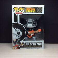 🔥Funko Pop Rock Kiss The Spaceman Original Mint Box 100% Authentic Vaulted🔥