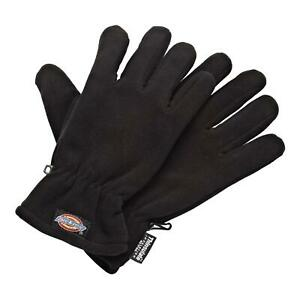 Dickies GL8999 Lightweight Thinsulate Thermal Winter Work Gloves Black