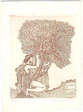 PIER CANOSA: Exlibris für Mario de Filippis