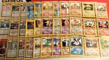 More details for part complete 1999 base set - all non holos 17 to 102. wotc pokemon. ex to nm