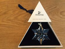 swarovski 2000 Christmas ornament snowflake org box, retired.