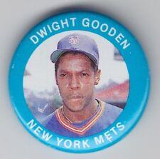 1984 Fun Food Pins - Dwight Gooden - #27 - New York Mets - NrMt-Mt+