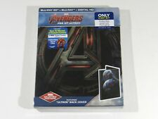 Avengers Age of Ultron 3D+2D Blu-ray Steelbook Ed Best Buy Exclusive