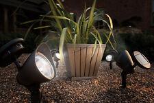 Gardman Solare Spot Light luci soffuse giardino 8 H no cavi resistenti all'aperto