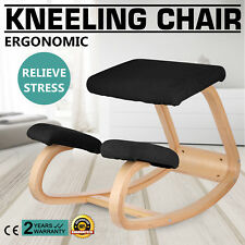 Adjustable bentwood Ergonomic Kneeling Chair Wood Frame Balance Body Durable