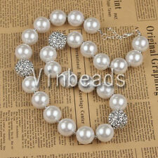 Acrylic Chunky Beads Bubblegum Gumball Jewlery Pendant Christmas Necklace 128