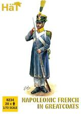 HaT 8234 Napoleonic French in Greatcoats. 1/72 scale. 20 Figures.