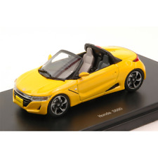 HONDA S660 2015 YELLOW 1:43 Ebbro Auto Stradali Die Cast Modellino