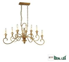 Lampadario Ideal Lux  CORTINA SP10 RUGGINE CODICE 088433