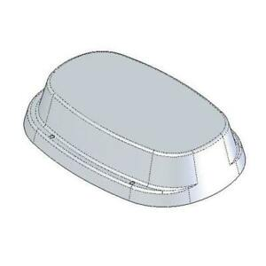 IP25 Impey Toilet Plinth 25mm
