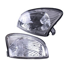 1 Pair Front Corner Turn Signal lamp Light Accessory Fit For Lexus LX470 1998-07