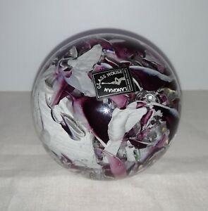 Langham glass paperweight. (565)