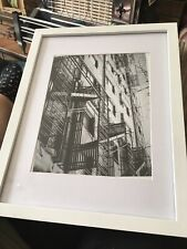 Framed Abstract Architecture Original Photo Black And White  Manhattan New York