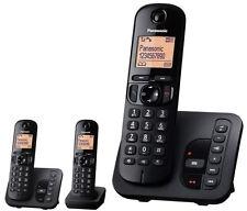Panasonic Kx-tgc223gb Telefone schwarz Silber