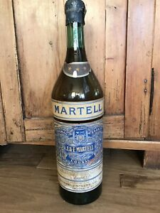 "Huge 23"" Vintage French ""Martell"" Cognac Advertising  Bottle circa 1940"