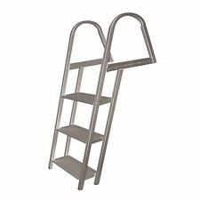 JIF Marine ASE Pontoon Boat Ladder 3-Step With Mounting Hardware MD