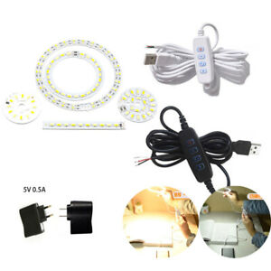DC 5V LED Chip DIY Tricolor Dimmable SMD5730 Light Beads Bulb 5W 6W 10W 12W 30W