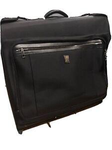 Travelpro Platinum Elite-25 Inch Rolling Garment Bag, Shadow Black, 25-Inch