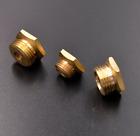 RCEXL CM6 plug 14mm to 1/4-32 Brass Spark Plug Bushing Adapter Conversion 1PC