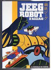 dvd JEEG ROBOT D'ACCIAIO numero 01 IL RISVEGLIO DEI MOSTRI