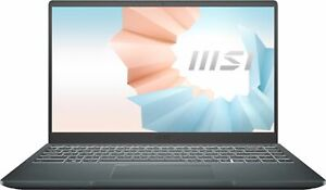 "MSI - Modern 14"" Laptop - Intel I3 - 8GB Memory - 128GB SSD - Black"