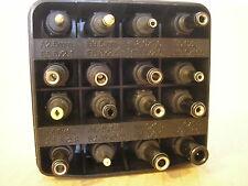 DC Minwa X-Type 2-pin Plug Adapter MWX15 Set with 16pcs & case