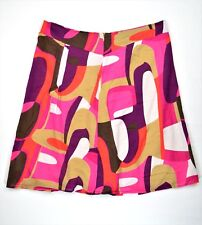 George Women's Skirt Geometrical 100% Cotton Size 14 Inventory G-75